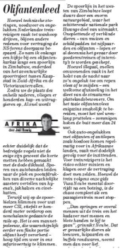 Column Olifantenleed in De Telegraaf van 19 september 2013